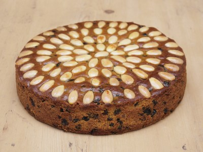 Almond Dundee Cake
