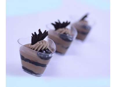 Chocolate Blueberry Mousse