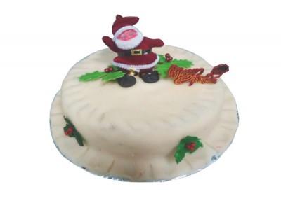 Plum Cake (Marizipan Icing)
